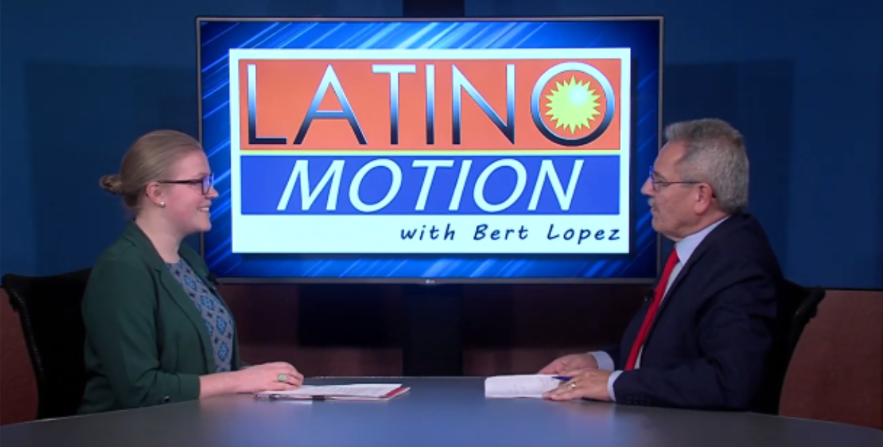 Lights, Camera, Action! LAEDA WBC's Sophie Werner Makes an Appearance on Latino Motion