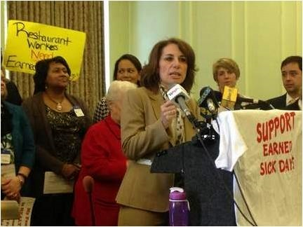N.J. Lawmakers Launch Statewide Paid Sick-Leave Campaign
