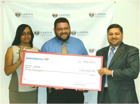 Bank of America Provides $30,000 Grant to the  Latin American Economic Development Association