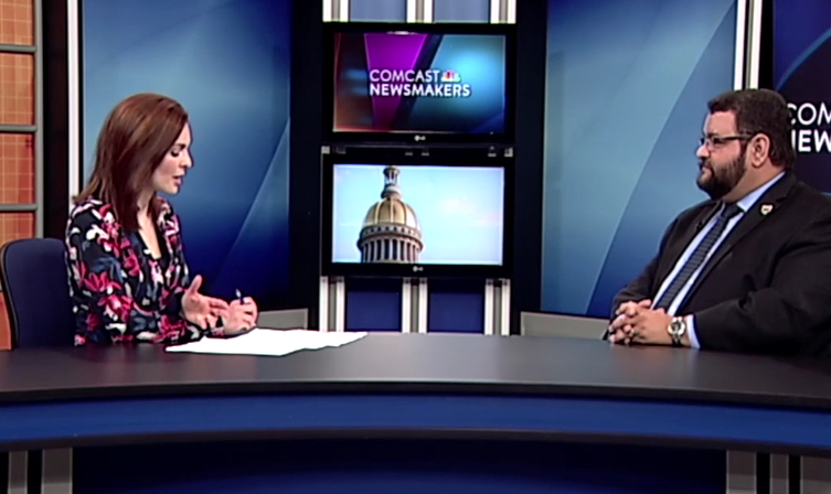 LAEDA C.E.O. Speaks to Comcast Newsmakers about Business Counseling