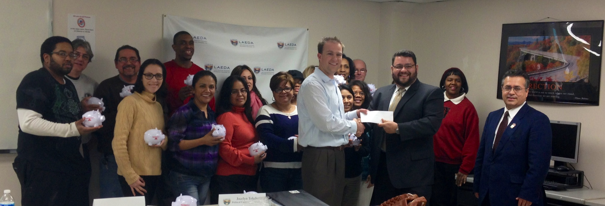 State Farm Supports The Entrepreneurial Development Training Program with a grant for $10,000.